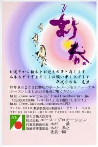 H26年年賀状(マネキン)